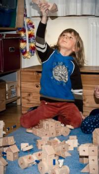Der Holzbaukasten-ein unendlich variables Spielzeug